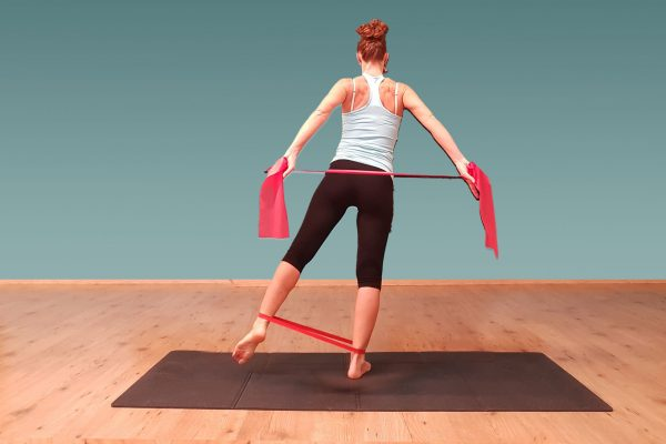 postura, stimolazione fasce posteriori delle braccia, dorsale, glutei e gambe